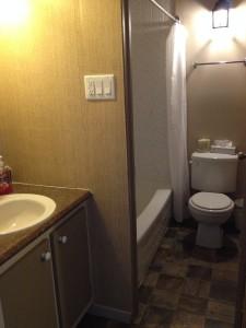 Salle de bain étudiant